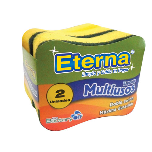 ESPONJA MULTIUSOS ANTIBACTERIAL